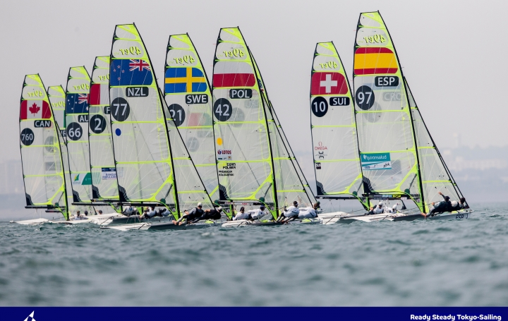 ReadySteadyTokyo2020 Test Event Foto: Sailing Energy / World Sailing