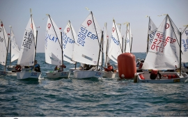 Canarios y baleares dominan el inicio del 28 Palamós Optimist Trophy-12 Nations Cup